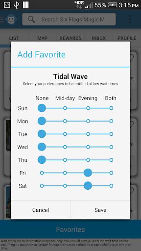 【免費旅遊App】Six Flags Wait Times-APP點子