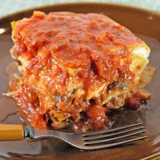 Meatballs for Patsy's Meatball Lasagna.
