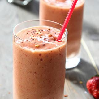 Spicy Strawberry-Banana Mango Slushers