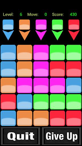 Rubik Shifter: sliding puzzle