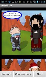 Dark Legacy Comics - screenshot thumbnail