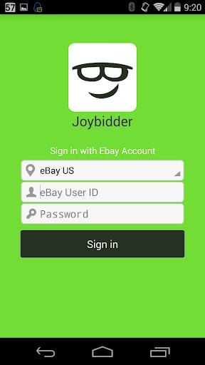 JoyBidder eBay Auction Sniper