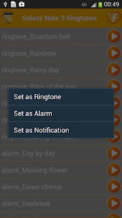 Samsung Galaxy Note 3 Ringtone - screenshot thumbnail