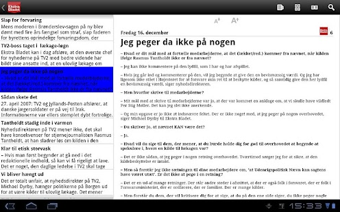 eBladet - screenshot thumbnail