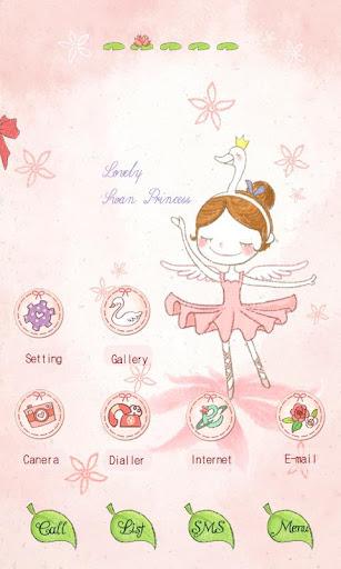CUKI Theme The Swan Princess