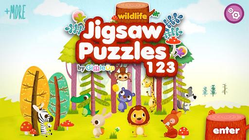 兒童拼圖123 - 野生動物篇