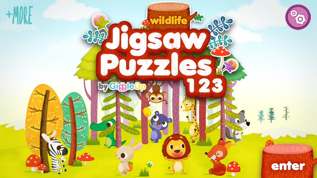Wildlife Jigsaw Puzzles 123 HD- screenshot