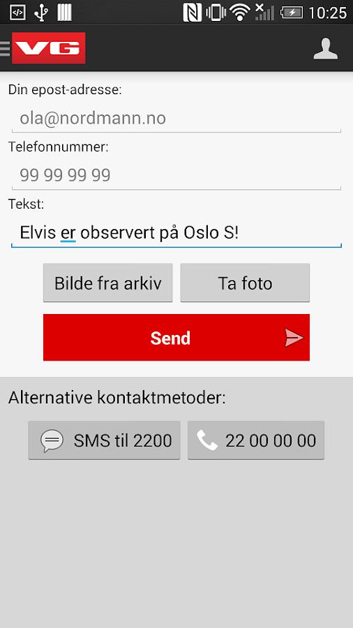 vg app til android Hamar