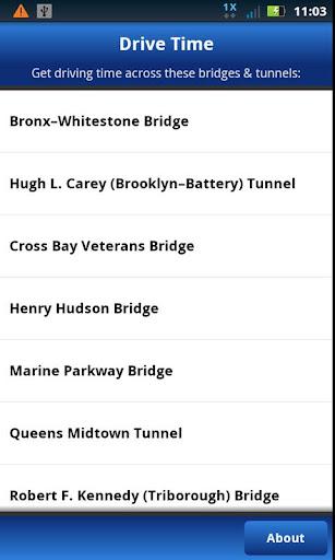 MTA Drive Time