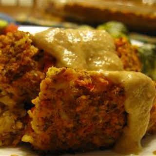 Alissa's Vegetarian Lentil Meatloaf.