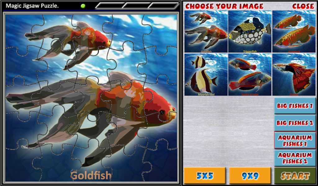 Magic Jigsaw Puzzle 3 - screenshot
