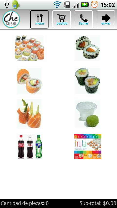 Che Sushi: captura de pantalla
