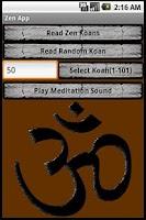 Screenshot of Zen App