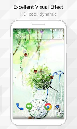 Green Summer Live Wallpaper