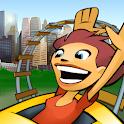 3D Rollercoaster Rush New York logo