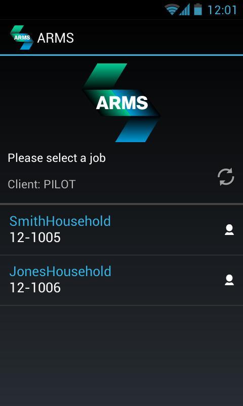 Asset Relocation Mgmt System- screenshot