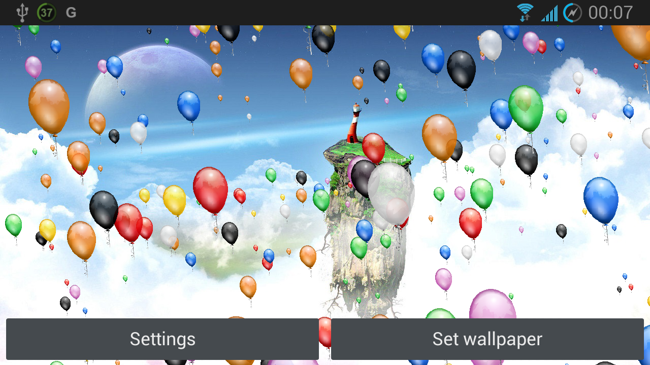 balloons live wallpaper full android apps on google play