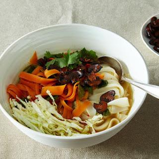 Mushroom and Vegetable Pho Recipe
