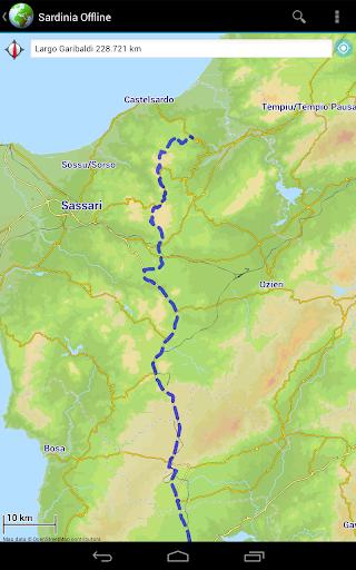 Offline Map Sardinia, Italy|玩旅遊App免費|玩APPs