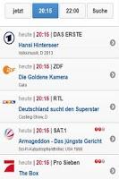 Screenshot of Fernsehen