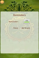 Screenshot of Hadith Every Day
