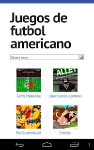American football games - screenshot thumbnail