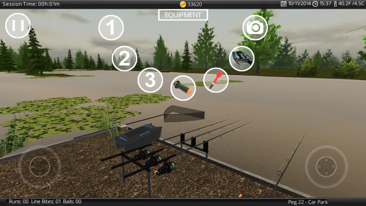 Carp Fishing Simulator - screenshot