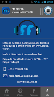 Rádio Facfil- screenshot thumbnail