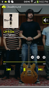 CloudAround Music Player - screenshot thumbnail