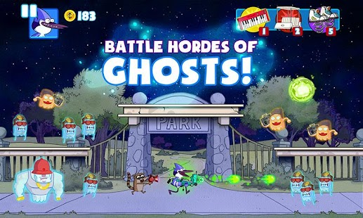Ghost Toasters - Regular Show - screenshot thumbnail