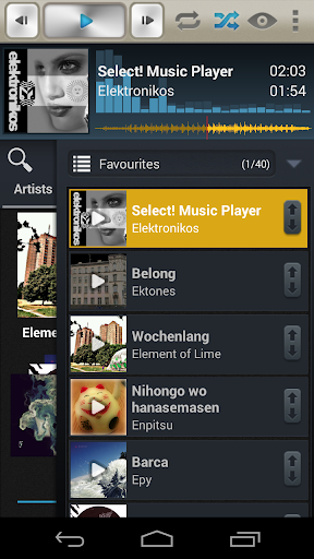 Select Music Player Pro