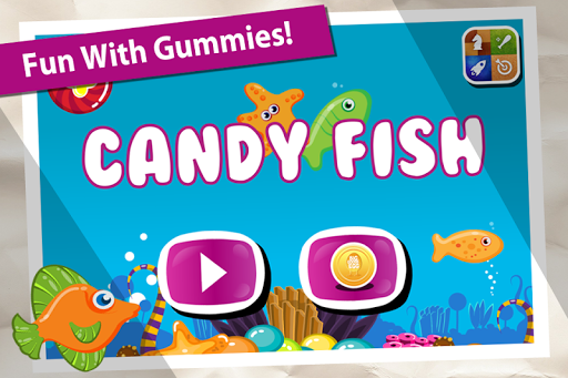 Candy Fish Gummy Race