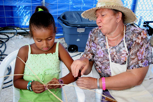Cayman-Islands-Thatch-Weaving - Thatch weaving is passed through the generations on Grand Cayman Island.