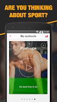 Screenshot of My Coach - Workout trainer