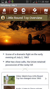 Gettysburg Battle App: July 2 - screenshot thumbnail