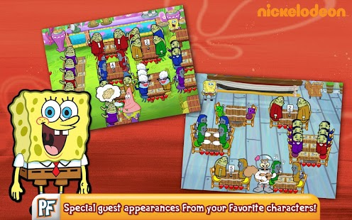 SpongeBob Diner Dash - screenshot thumbnail