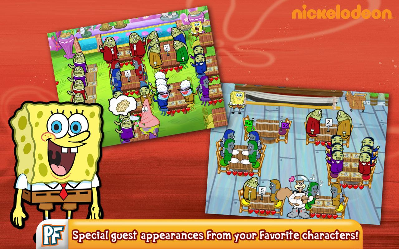 SpongeBob Diner Dash- screenshot