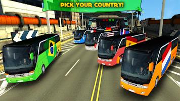 Screenshot of Soccer Team Bus Battle Brazil