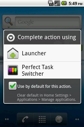 Perfect Task Switcher- screenshot