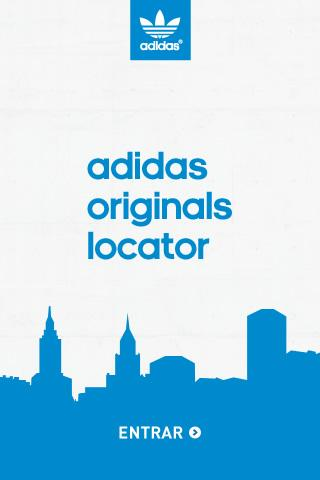 Adidas Originals Store Locator - screenshot