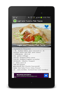 Healthy Recipes Free - screenshot thumbnail