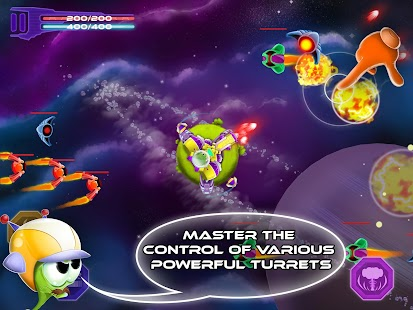 Space Defense - Shooting Game- screenshot thumbnail