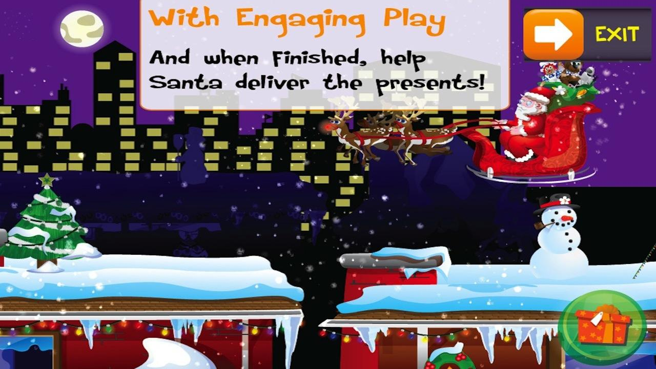 PUZZINGO Christmas Puzzle Lite - screenshot