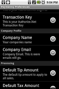 PaymentQ screenshot