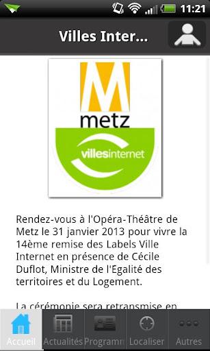 Villes Internet Metz 2013
