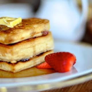 Cranberry Buttermilk Pancakes.