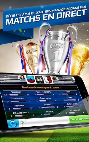 android Top Eleven Be a Soccer Manager Screenshot 8