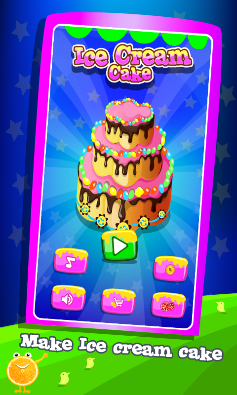 Ice Cream Cake Maker - Cooking - screenshot