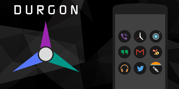 Durgon - Icon Pack Screenshot