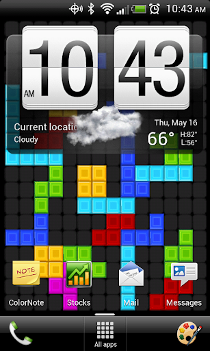 Blocks Drops Live Wallpaper